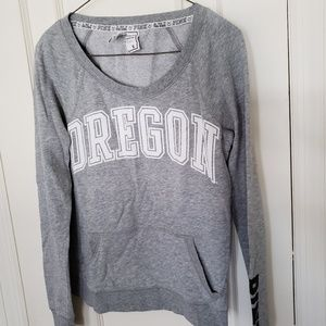 Pink gray Sweatshirt
